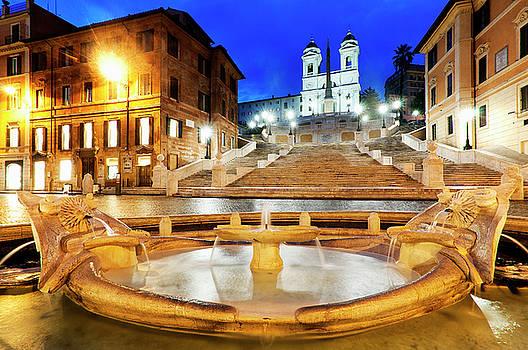 Piazza di Spagna by Fabrizio Troiani