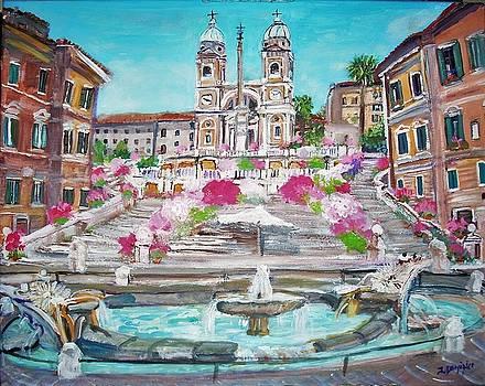 Piazza di Spagna by Teresa Dominici