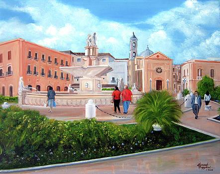 Piazza Mola Di Bari by Leonardo Ruggieri