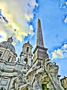 Piazza Navona  by Mindy Newman