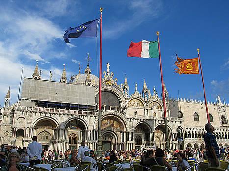 Piazza San Marco Venice by Lisa Boyd