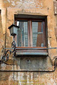Piazza Window by Joseph Yarbrough