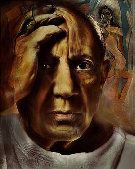 Picasso and the senoritas by Monica Magallon