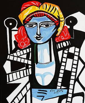 Picasso By Nora  Film Star by Nora Shepley