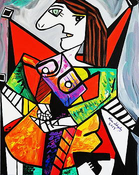 New Picasso By Nora  The Ruler by Nora Shepley