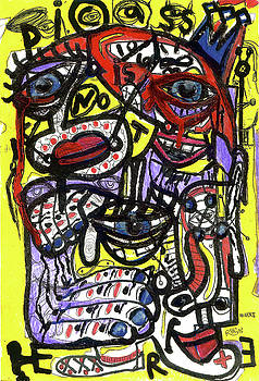 Picasso Has Left The Building by Robert Wolverton Jr