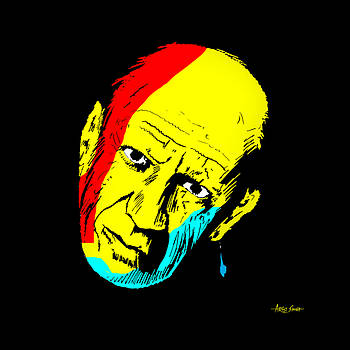ARTIST SINGH - Picasso mask