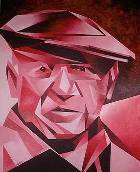 Tracey Harrington-Simpson - Picasso Portrait The Rose Period
