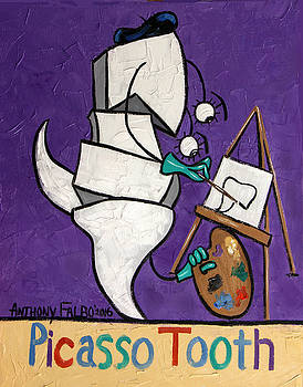 Picasso Tooth by Anthony Falbo