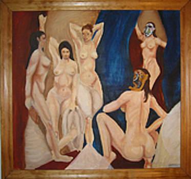 Picasso's Girls by Megan Welcher