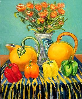 PIchers and Peppers by Susan Decastro