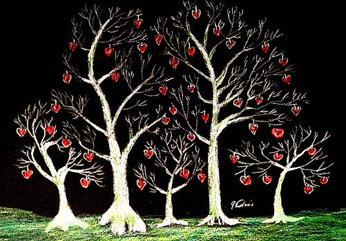 The Valentine Forest by Angela Davies