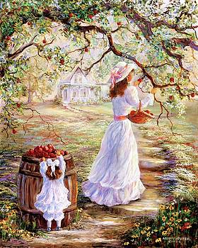 Picking Apples by Sharon Abbott-Furze