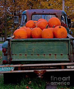 Pickup My Pumpkins by April Bielefeldt