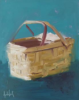 Picnic Basket by Barbara Andolsek
