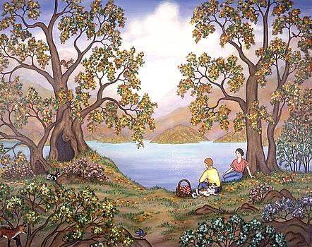 Linda Mears - Picnic by a Lake