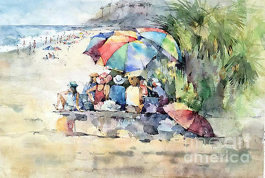 Picnic - Laguna Beach - California by Natalia Eremeyeva Duarte