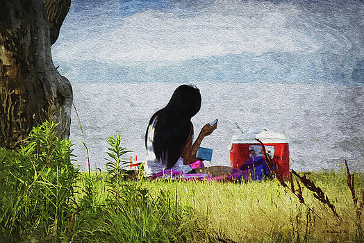 Picnic On The Bay - Paint FX by Brian Wallace