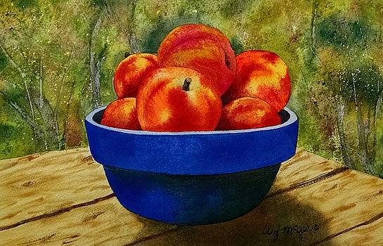 Picnic Peaches by Lizbeth McGee