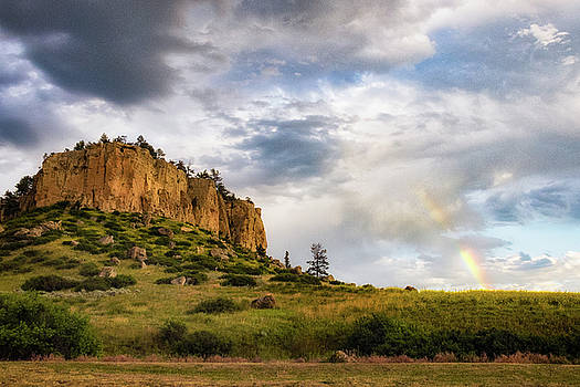 Pictograph Caves Rainbow by Jeff Handlin