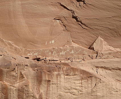 Pictographs by Rollin Jewett