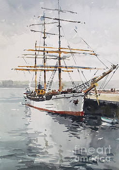 Picton Castle Tall Ship by Tony Belobrajdic