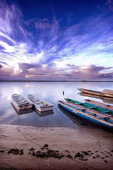 Eduardo Huelin - Picture of senegalese boats captured in Senegal