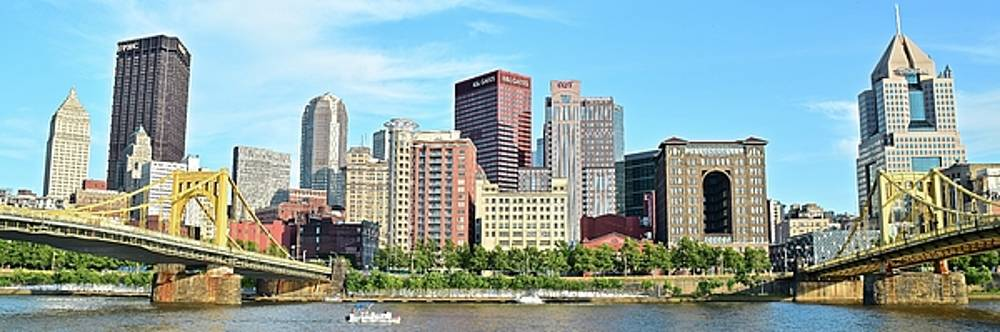 Picture Perfect Pittsburgh Panoramic by Frozen in Time Fine Art Photography