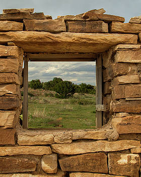 Picture Window in Baca County by Lois Lake