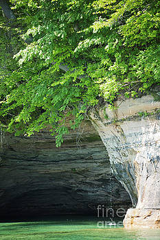 Pictured Rocks #1 by Denise Woldring