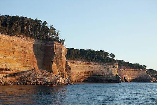 Rich Sirko - Pictured Rocks - Sandstone Cliffs