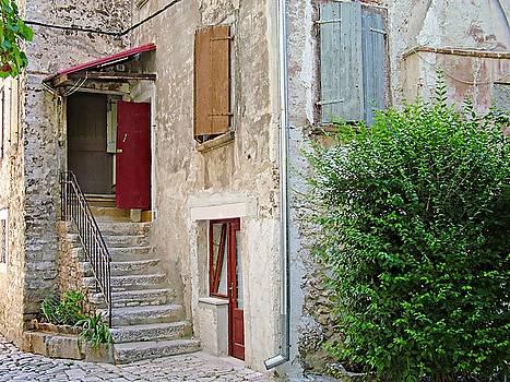 Picturesque house - Rovinj, Croatia  by Joseph Hendrix