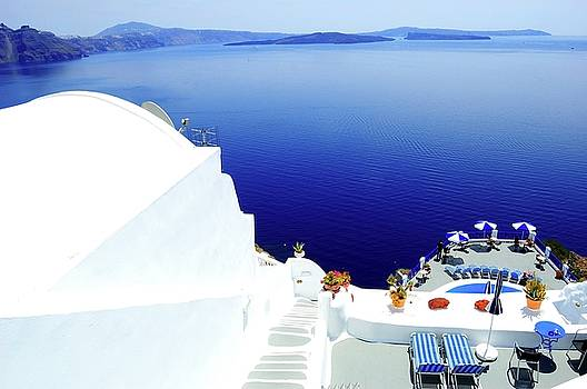 Piece of Mediterranean cruise  by Yuri Hope