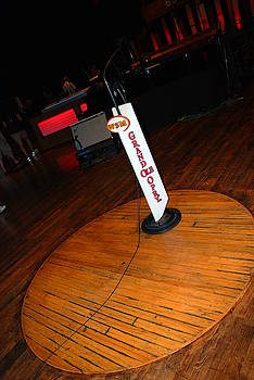 Susanne Van Hulst - Piece of the original old stage at the Grand Ole Opry in Nashville