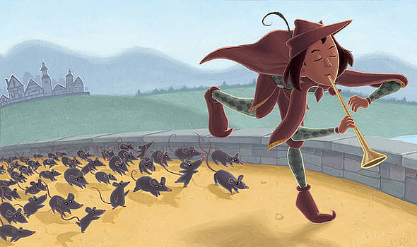 Pied Piper by Jamie Pogue