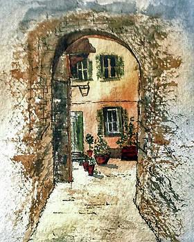 Pienza by Sarah Guy-Levar