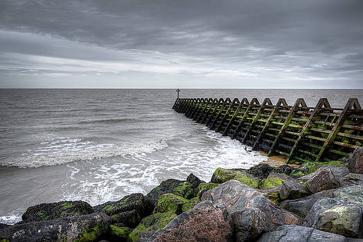 Pier and Sea by Svetlana Sewell