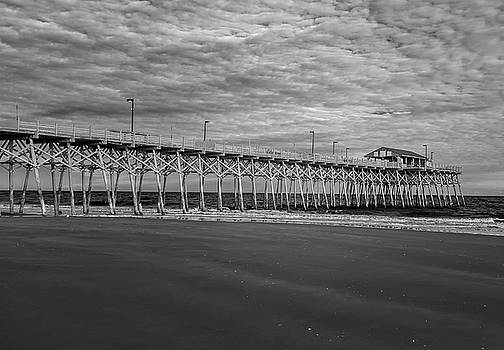 Pier at Garden City by Cathie Crow