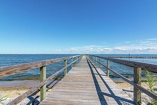 Pier at Highland Beach by Charles Kraus