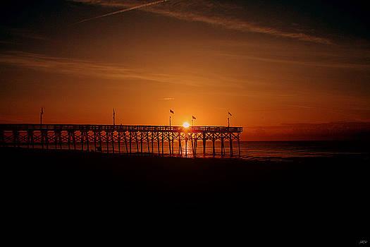 Jason Blalock - Pier At Sunrise