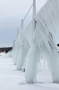 Pier Ice by Fran Riley