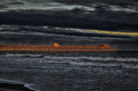 Pier Into Darkness by Kelly Reber