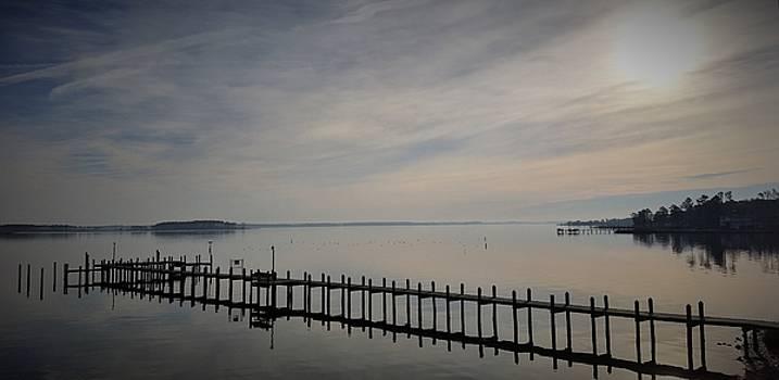 Pier Reflection by Jennifer Fliegel