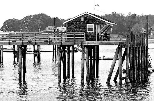 Pier Shack by Brian Pflanz