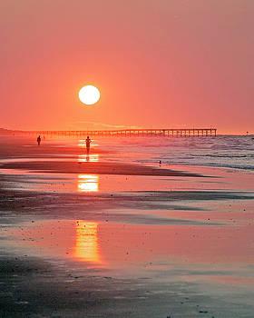 Pier Sunrise by Alan Raasch