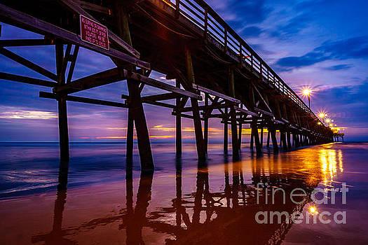 Pier Sunrise by David Smith
