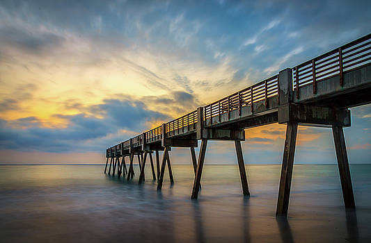 Pier Sunrise by R Scott Duncan
