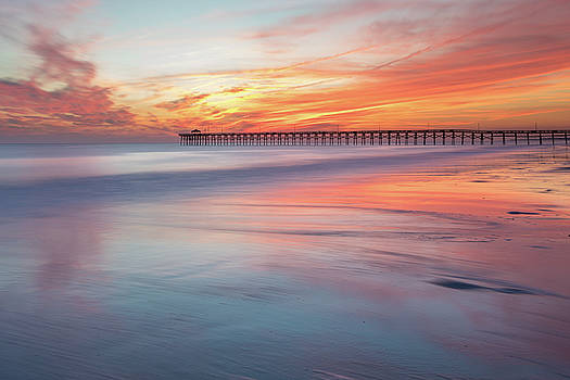 Pier Sunset by Nick Noble