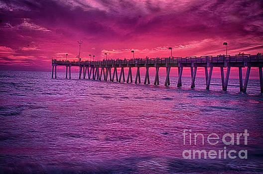 Pier Sunset by Quinn Sedam