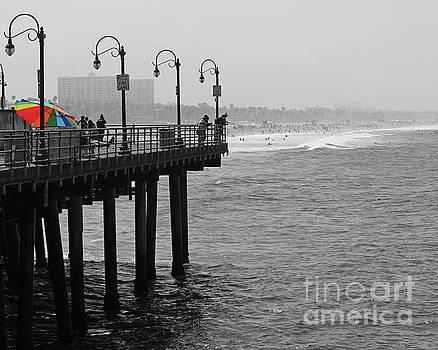 Pier Umbrella by Cheryl Del Toro